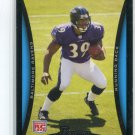 RAY RICE 2008 Bowman #186 ROOKIE Baltimore Ravens RUTGERS