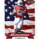 CARDALE JONES 2016 Leaf Draft All-American INSERT ROOKIE Ohio State Buckeyes BILLS QB