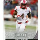 LEONTE CARROO 2016 Leaf Draft #61 ROOKIE Rutgers Scarlet Knights DOLPHINS WR