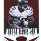 ADRIAN PETERSON 2014 Panini Certified Immortals Red Camouflage SP #56 Oklahoma Sooners VIKINGS