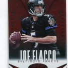 JOE FLACCO 2014 Panini Certified Immortals Red Camouflage SP #8 Delaware Blue Hens RAVENS QB