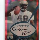 CUNCHO BROWN 1999 Collector's Edge CE Pro Signatures Authentic AUTO ROOKIE Penn State SAINTS B