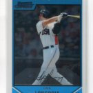 EVAN LONGORIA 2007 Bowman Chrome Draft Picks & Prospects #BDPP99 ROOKIE Tampa Rays  -  BV $5