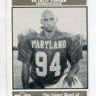 TROY TURNER 1992 Big 33 Maryland MD High School card DB