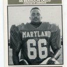 BRANDON LALLIS 1992 Big 33 Maryland MD High School card MOREHOUSE COLLEGE OL