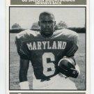 JASON BUCKHANAN 1992 Big 33 Maryland MD High School card DELAWARE STATE DB