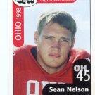 SEAN NELSON 1998 Ohio OH Big 33 High School card INDIANA HOOSIERS DE