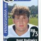 KENT RODZWICZ 1998 Pennsylvania PA Big 33 High School card HARVARD OL / DL