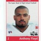 ANTHONY FLOYD 1999 Ohio OH Big 33 High School card LOUISVILLE Cardinals