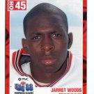 JARRET WOODS 2003 Ohio OH Big 33 High School card TOLEDO DB
