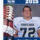 BRYAN WHITE 2015 Pennsylvania PA Big 33 High School card VILLANOVA
