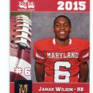 JAMAR WILSON 2015 Maryland MD Big 33 High School card RB