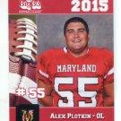 ALEX PLOTKIN 2015 Maryland MD Big 33 High School card