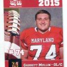 GARRETT MULLIN 2015 Maryland MD Big 33 High School card