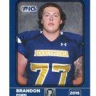 BRANDON FORD 2016 Pennsylvania PA Big 33 High School card PITT Panthers OL