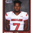 De'MARCO SEAY 2016 Maryland MD  Big 33 High School card