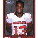 DANA JACKSON Jr. 2016 Maryland MD  Big 33 High School card SHEPHERD