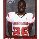MICHAEL CLARK 2016 Maryland MD  Big 33 High School card