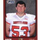 GAVIN CLARK 2016 Maryland MD  Big 33 High School card TOWSON
