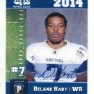 DELANE HART 2014 Pennsylvania PA Big 33 High School card TOLEDO WR