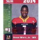 REGGIE WHITE Jr. 2014 Maryland MD Big 33 High School card MONMOUTH