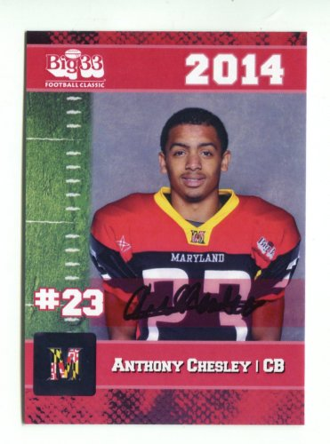 pretty nice 14275 92383 ANTHONY CHESLEY 2014 Maryland MD Big 33 High School card ...