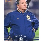 COACH BRIAN KELLY 2013 Upper Deck UD Collectible #92 Notre Dame Irish