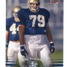 MIKE ROSENTHAL 2013 Upper Deck UD Collectible #71 Notre Dame Irish