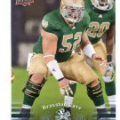 BRAXSTON CAVE 2013 Upper Deck UD Collectible #91 ROOKIE Notre Dame Irish