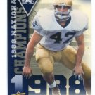 MICHAEL STONEBREAKER 2013 Upper Deck UD Collectible National Champions INSERT Notre Dame Irish