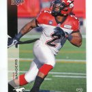 JOCK SANDERS 2014 Upper Deck UD CFL #17 West Virginia Mountaineers RB