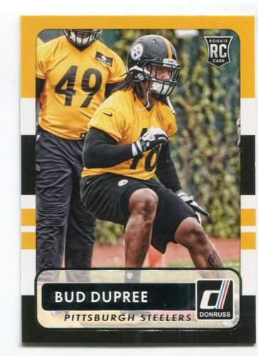 53f19b4b7 ALVIN BUD DUPREE 2015 Panini Donruss  195 ROOKIE Kentucky Wildcats STEELERS