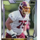 BRANDON SCHERFF 2015 Topps #457 ROOKIE Iowa Hawkeyes REDSKINS