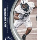 JACK CRAWFORD 2016 Panini Collegiate Collection #25 PENN STATE Dallas Cowboys