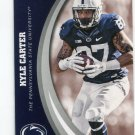 KYLE CARTER 2016 Panini Collegiate Collection #31 ROOKIE PENN STATE Vikings