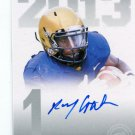 RAY GRAHAM 2013 Press Pass AUTO #PPS-RG ROOKIE Texans PITT Panthers