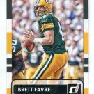 BRETT FAVRE 2015 Panini Donruss SP #163 Green Bay GB Packers QB