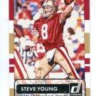 STEVE YOUNG 2015 Panini Donruss SP #183 BYU Cougars SF 49ers QB