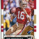 JOE MONTANA 2015 Panini Donruss SP #161 Notre Dame Irish SF 49ers QB