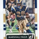 MARSHALL FAULK 2015 Panini Donruss SP #169 Rams