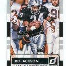 BO JACKSON 2015 Panini Donruss SP #162 Auburn Tigers RAIDERS