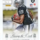 TIM BROWN / AMARI COOPER 2015 Panini Donruss Elite Passing the Torch INSERT ROOKIE Raiders