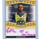 KAMERON MILES 2013 Leaf Army All-American Tour AUTO Texas A&M Aggies 4-star SAFETY #d/1