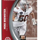 MIKE BREWSTER 2015 Panini Collegiate Collection #38 OHIO STATE BUCKEYES
