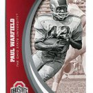 PAUL WARFIELD 2015 Panini Collegiate Collection #42 OHIO STATE BUCKEYES Dolphins HOF