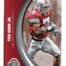 TED GINN Jr. 2015 Panini Collegiate Collection #47 OHIO STATE BUCKEYES Panthers