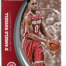 D'ANGELO RUSSELL 2015 Panini Collegiate Collection #11 Rookie OHIO STATE BUCKEYES Lakers