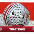 TRADITIONS FOOTBALL HELMET 2015 Panini Collegiate Collection #10 OHIO STATE BUCKEYES