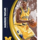 MAURICE TAYLOR 2015 Panini Collegiate Collection #31 MICHIGAN WOLVERINES Kings