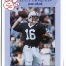 KEVIN THOMPSON 1998 Penn State Second Mile College Card BROWNS QB